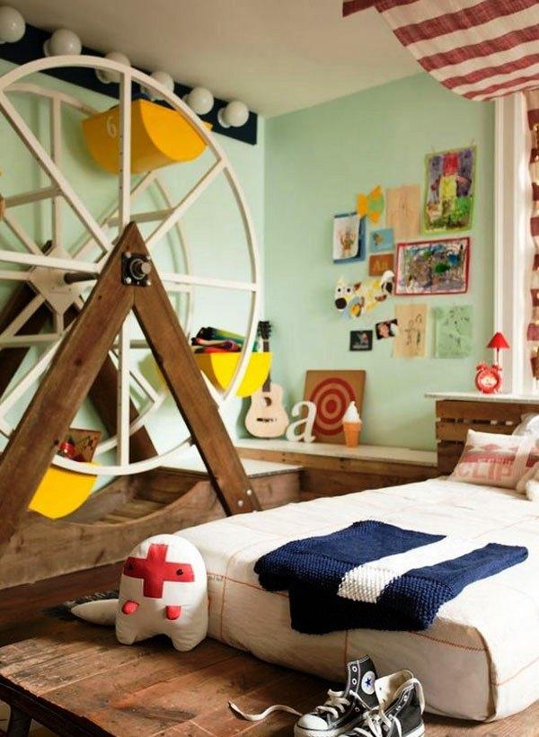 Desain Kamar Tidur Unik untuk Anak Laki-laki