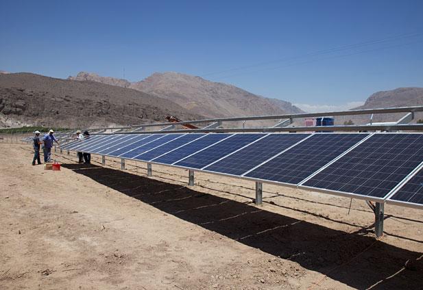 Chile hoy chile construye la primera planta de energ a for Planta de chile