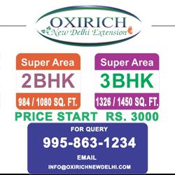Oxirich New Delhi Extension Ghaziabad Flats