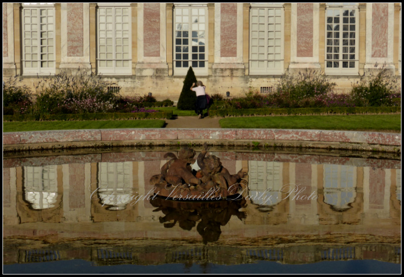 Grand Trianon Versailles reflections fountain