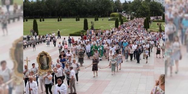 1ª. Peregrinação Nacional do Rosário reúne 8 mil na Polônia