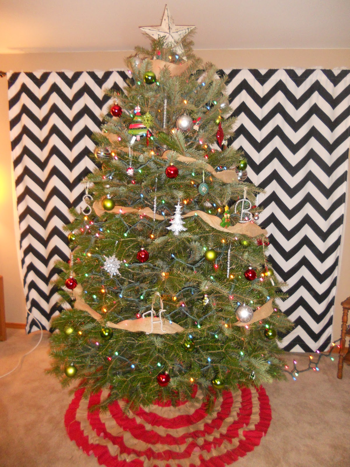 Woman In Transition DIY Christmas Tree Skirt