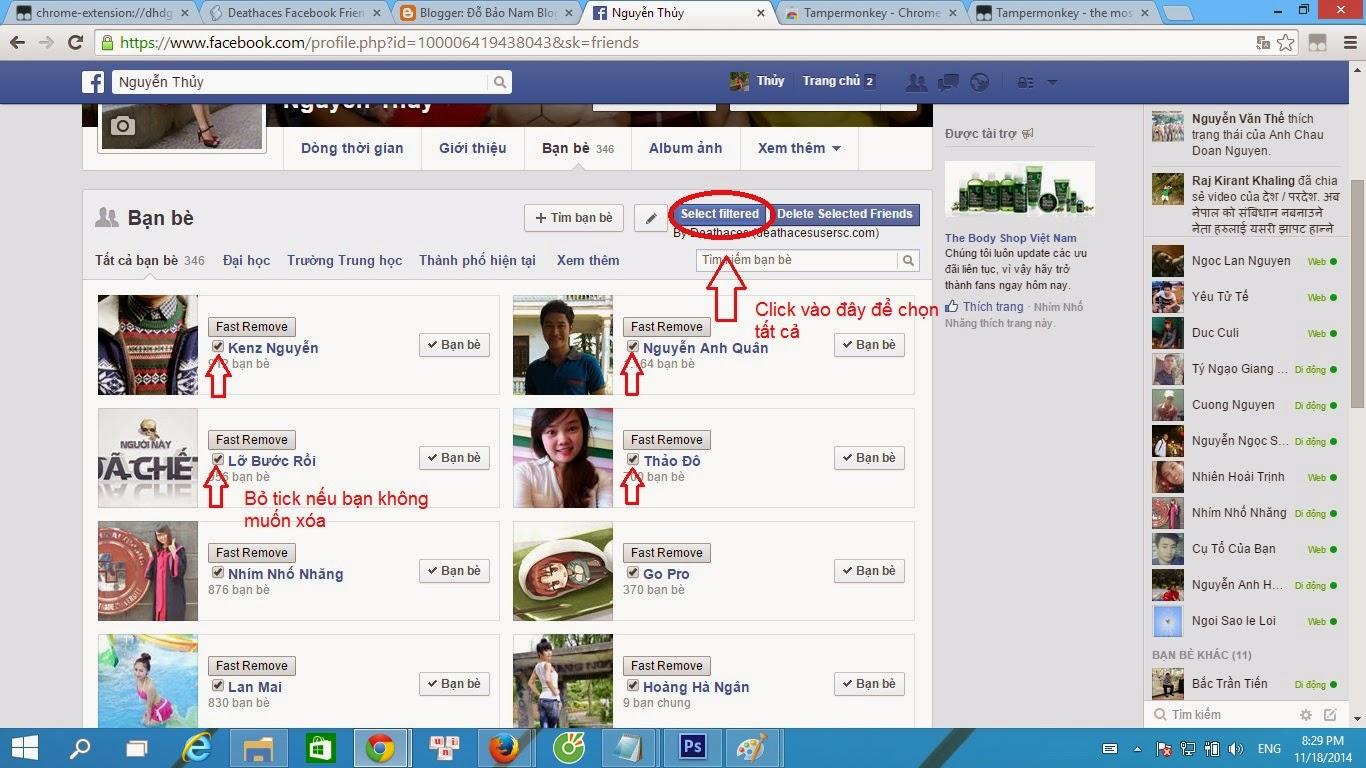 Hướng dẫn cách xóa bạn trên Facebook nhanh