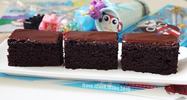 Crazy Chocolate Cake With Dark Chocolate Frosting