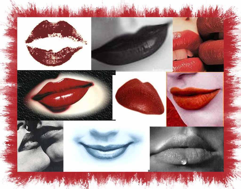labios besos: