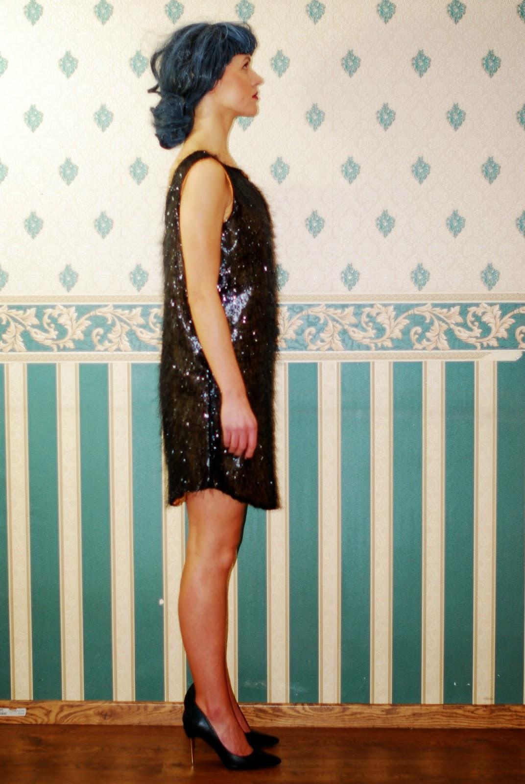 Mieniąca się sukienka, Mieniący się komplet, Cekinowa sukienka MARACHIC, cekinowe spodnie, spodnie w cekiny, sukienka na sylwestera, karnawała, karnawałowe kreacje 2015