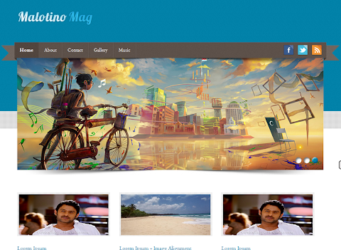 Malotino Mag Blogger Theme