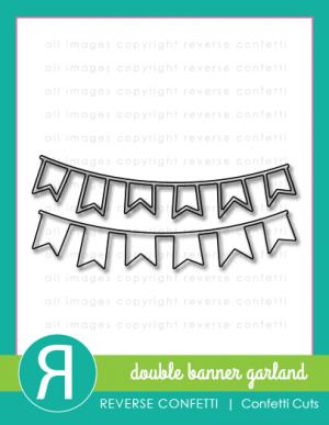 double banner barland - confetti cuts