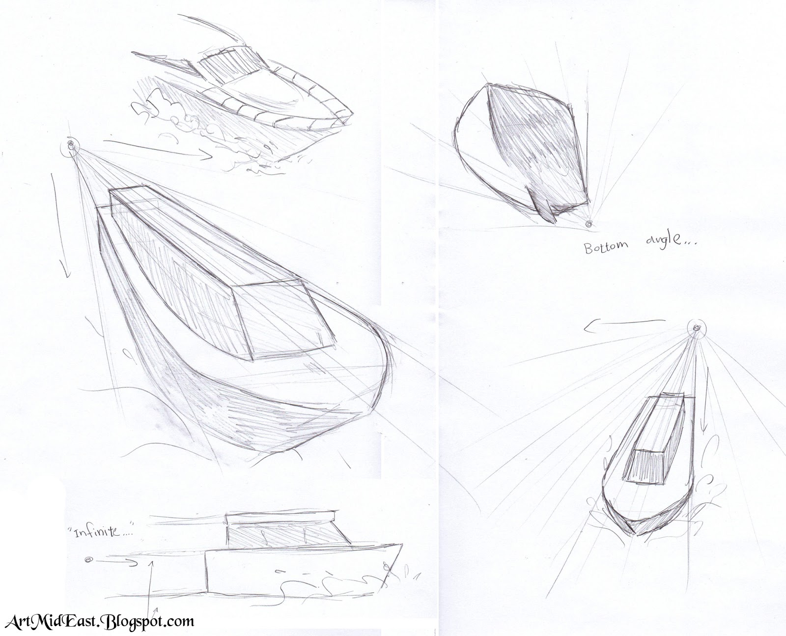 how to draw a boat   a step by step drawing lesson