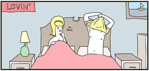 Quitarte la camiseta hace toda situación más intensa - Practicando sexo