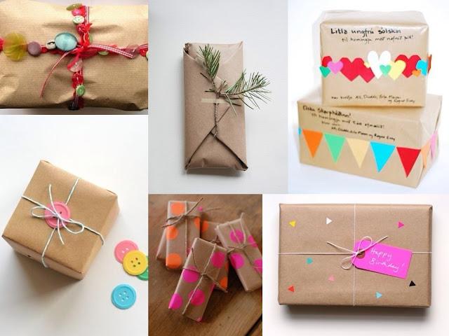 10 paquets cadeaux jolis et originaux - Faire paquet cadeau original ...