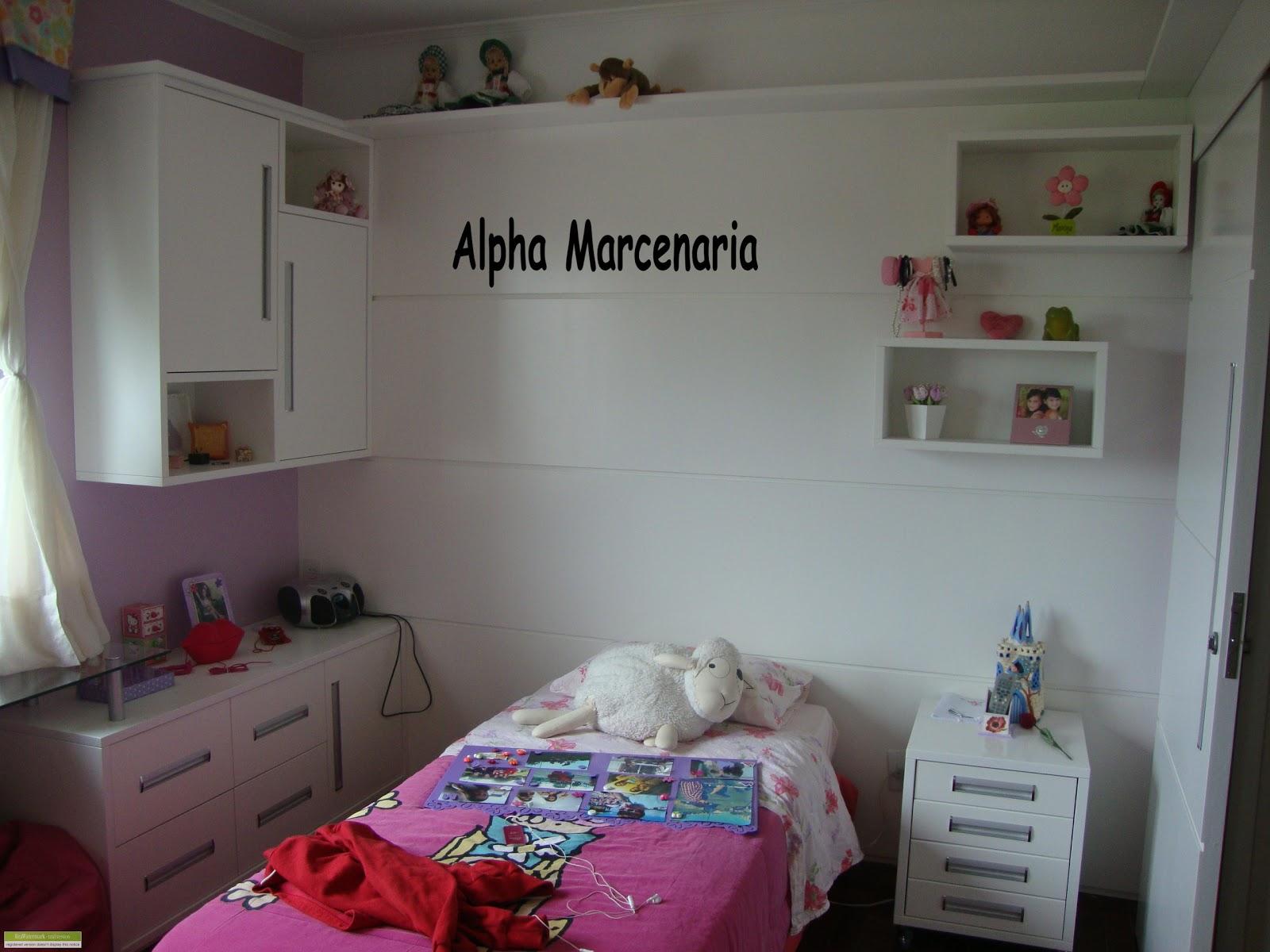 ALPHA MARCENARIA MÓVEIS SOB MEDIDA Dormitórios ~ Quarto Solteiro Vermelho E Branco