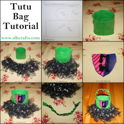 monster high tutu bag tutorial sewing