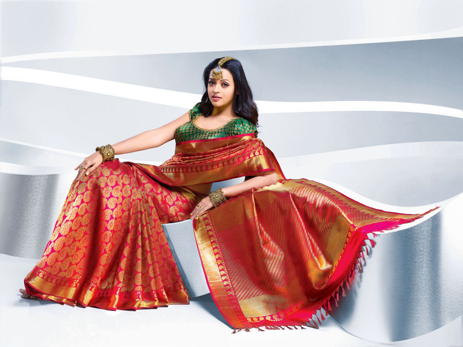 bhavana hot photos in saree no watermark cinemad70mm