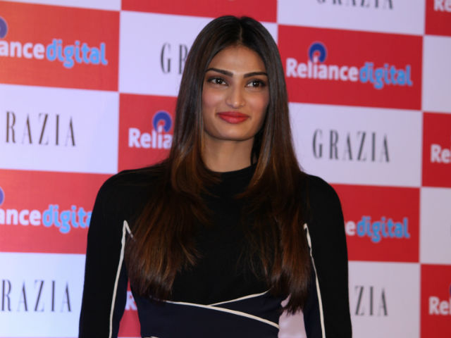 Athiya Shetty photographed at an event in Mumbai.