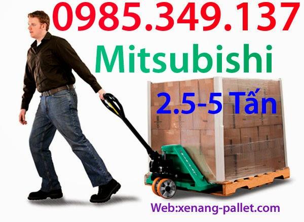 Xe nâng tay thấp Mitsubishi- Nhật