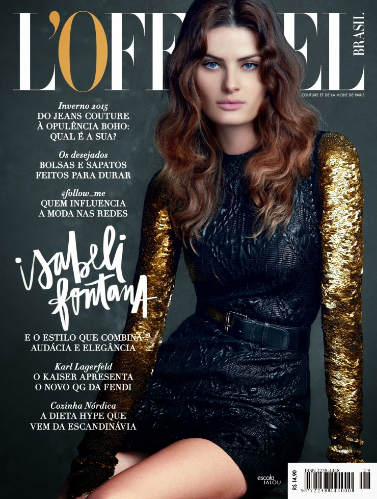 Fashion Model @ Isabeli Fontana by Nicole Heiniger for L'Officiel Brazil March 2015