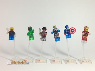 Lego giả mô hình siêu anh hùng 1