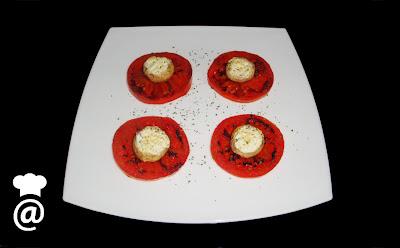 Recetas para Dietas Champiñones rellenos de queso