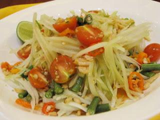 Resep Dan Cara Membuat Salad Pepaya Muda