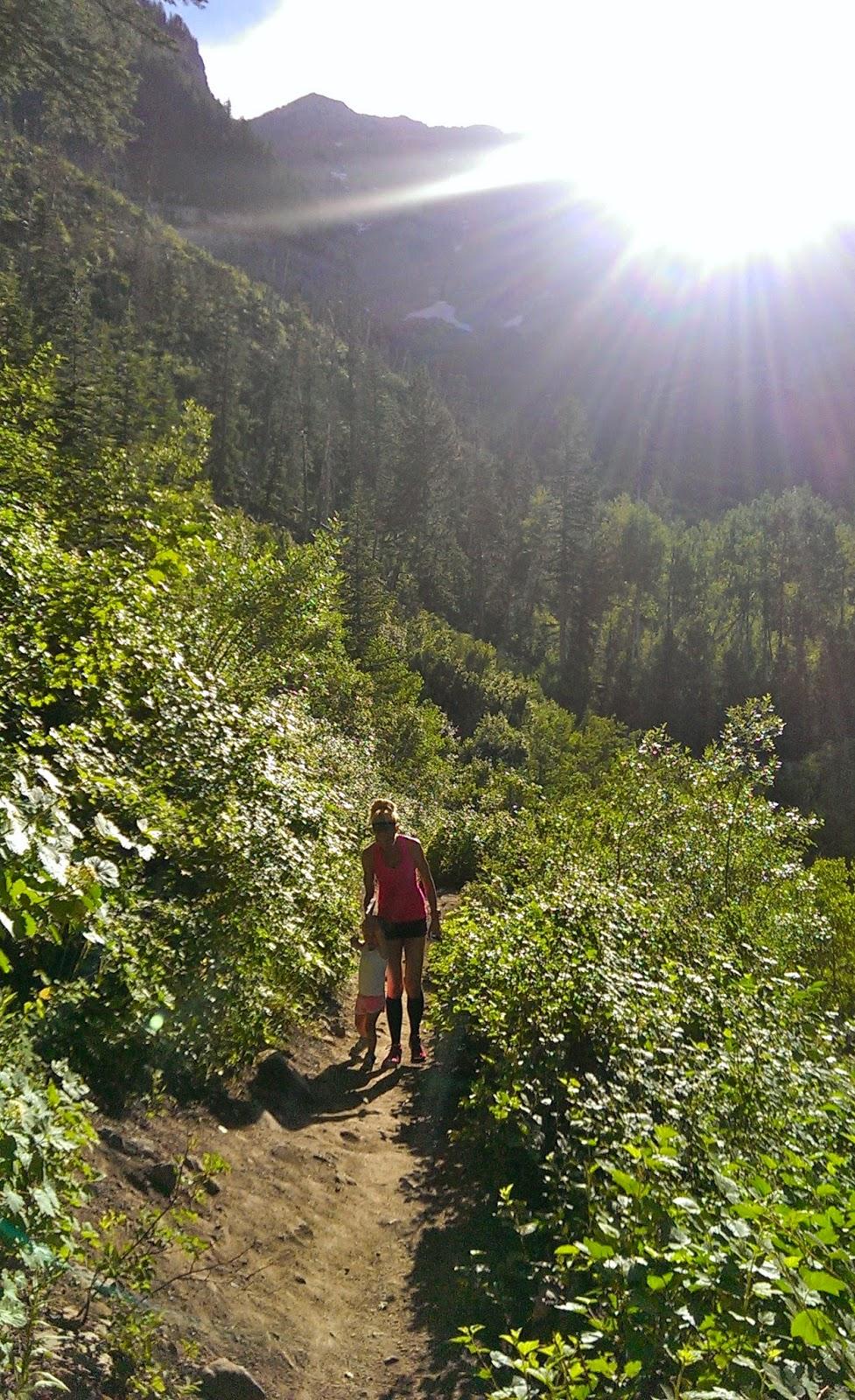 Sundance hiking
