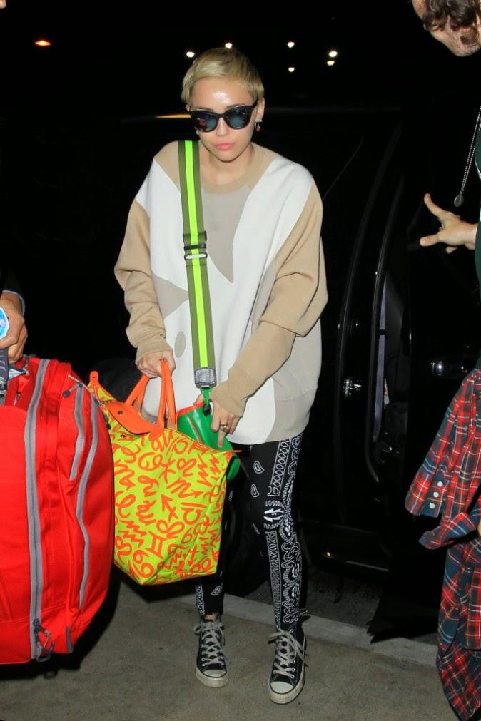 Miley Cyrus in Los Angeles on October 6 2014