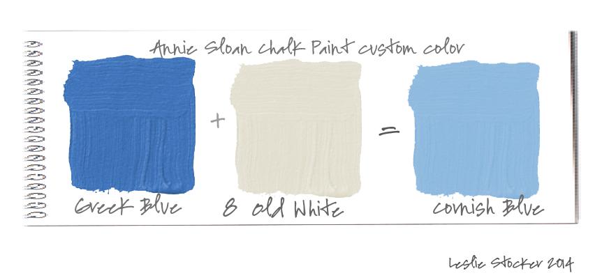 Cornish Blue Furniture Paint