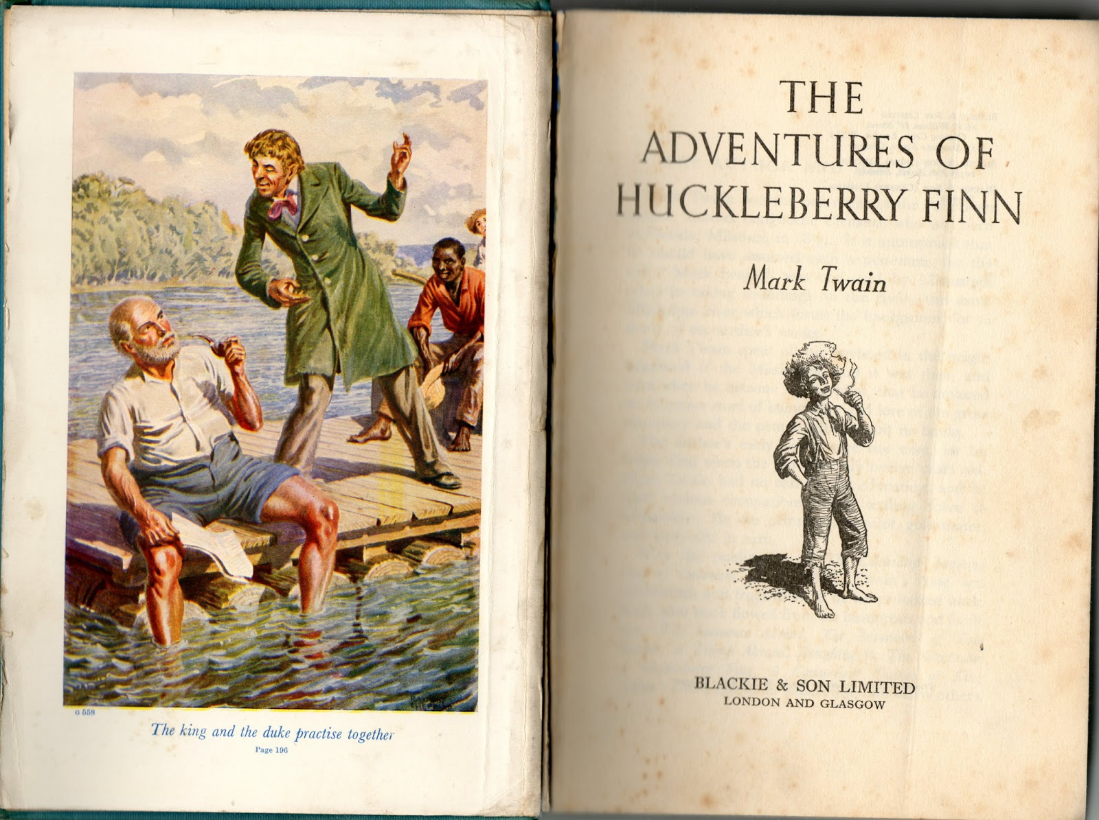 supernatural in adventures of huckleberry finn Born on 30 november 1835, clemens (better known by his pen name mark  twain) is most renowned for his novels the adventures of huckleberry finn and  the.