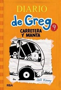 Ranking Mensual. Número 10: El diario de Greg 9, de Jeff Kinney.