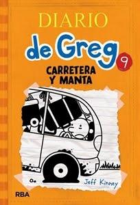 Ranking semanal. Número 7: Diario de Greg 9, de Jeff Kinney.
