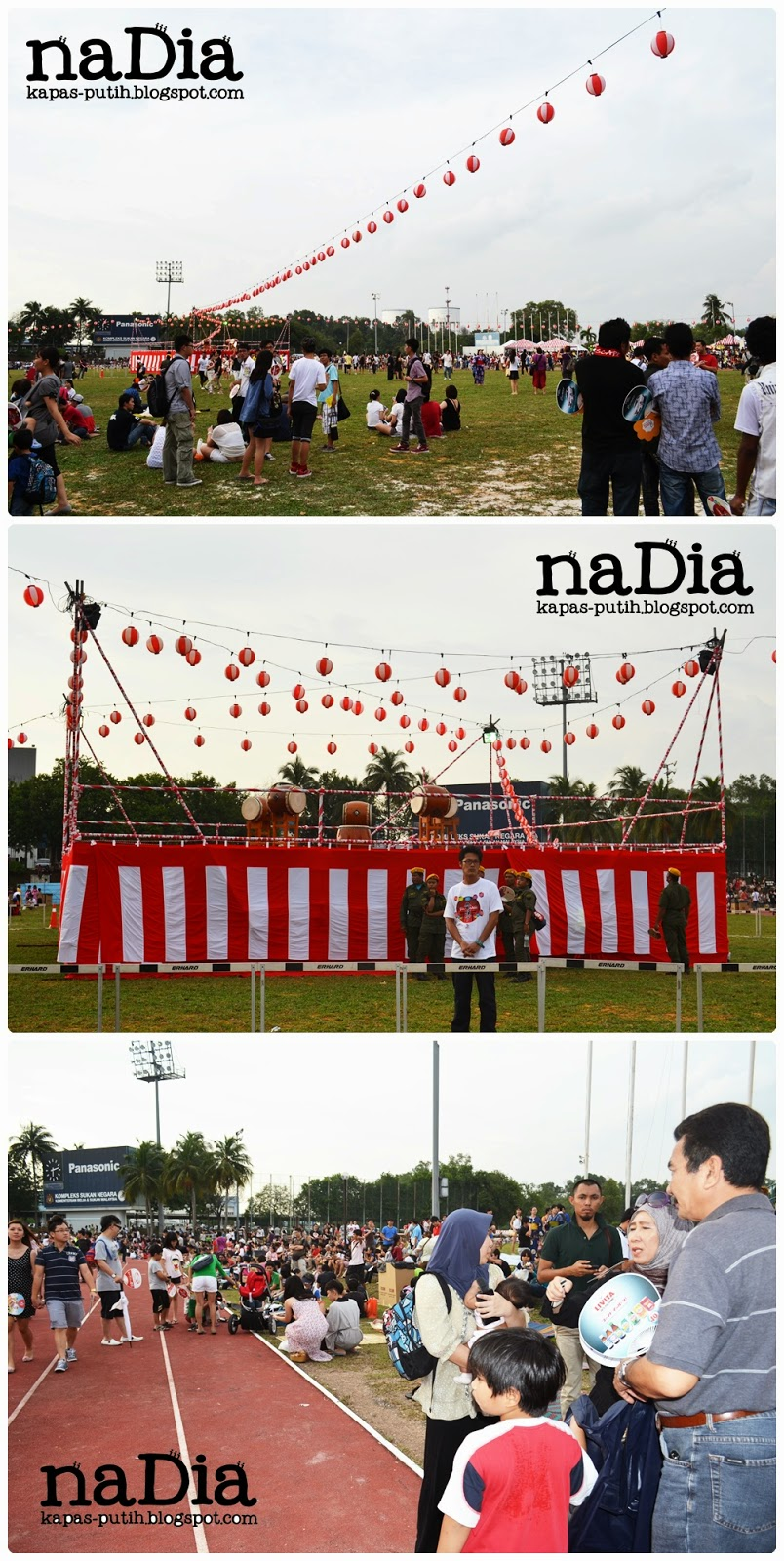 Bon Odori Stadium Matsushita Shah Alam