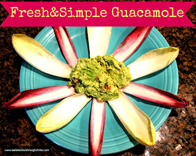 fresh & simple guacamole