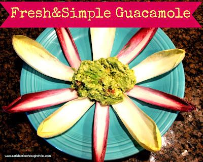 fresh & simple guacamole