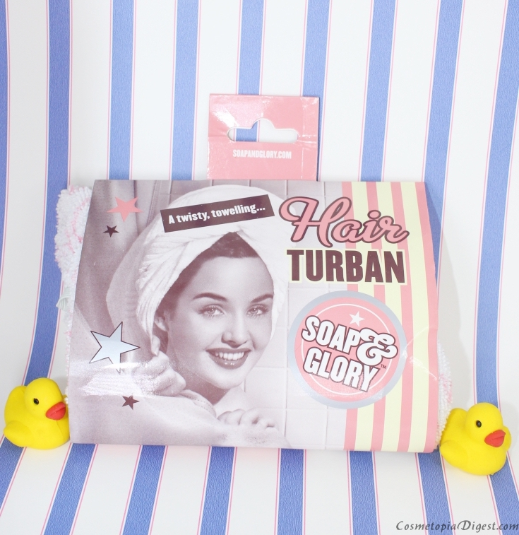Here is my review of the Soap & Glory Hair Turban, a microfibre towel that dries hair very quickly.