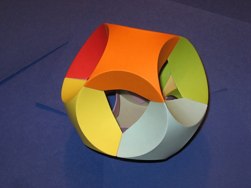 Поделки из бумаги тетраэдр оригами 63