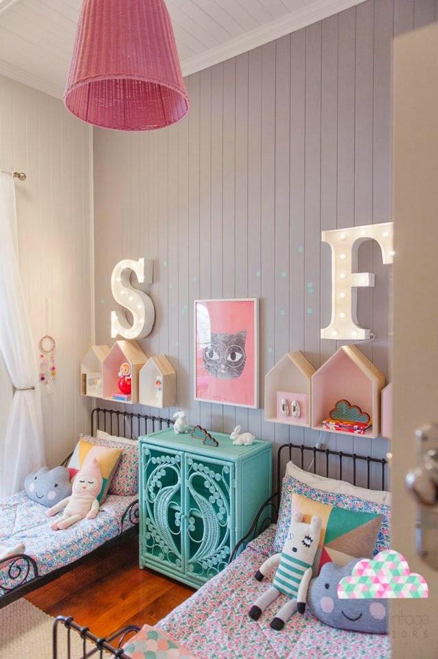 Creatividad para mam s decoraci n infantil y diy for Letras luminosas decoracion