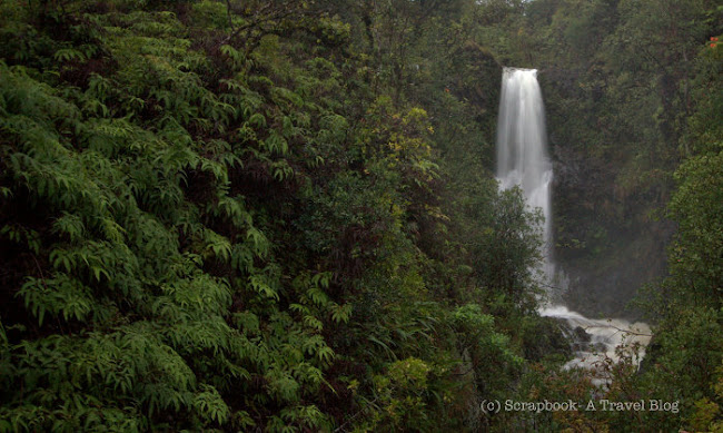 Hawaii Maui Hana Highway waterfalls Kalpaula Gulch