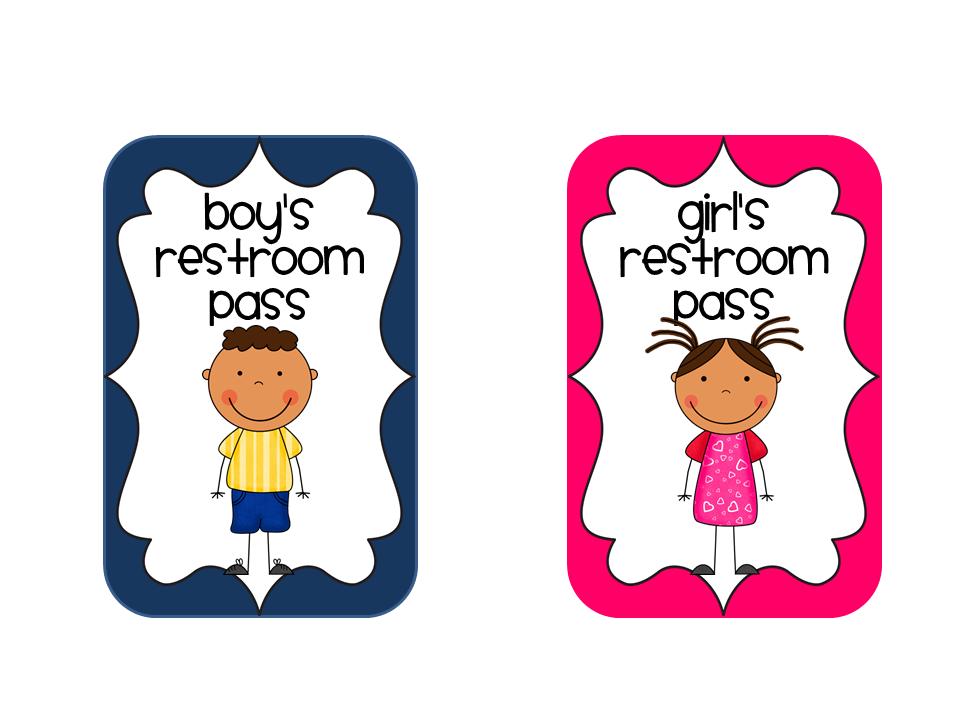 School Bathroom Passes Printable boys bathroom pass images - reverse search