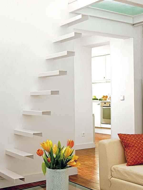 dise os de escaleras para espacios peque os decoracio On diseno de escaleras para espacios pequenos