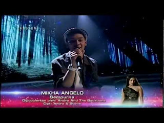 Video Mikha Angelo – Sempurna X Factor Indonesia
