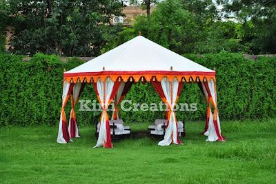 Exotic Handmade Tent