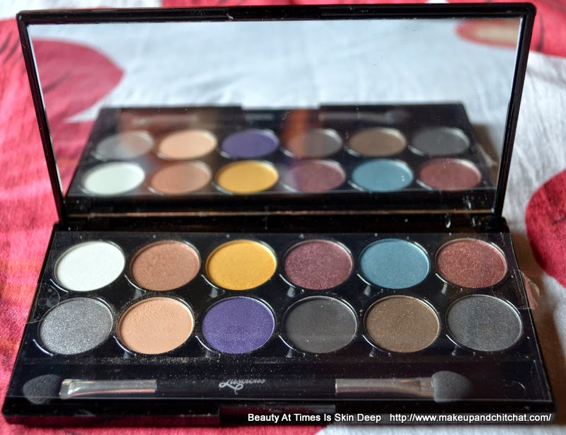 Photo and price of Luscious I Love Eyeshadow Palette Glam Night