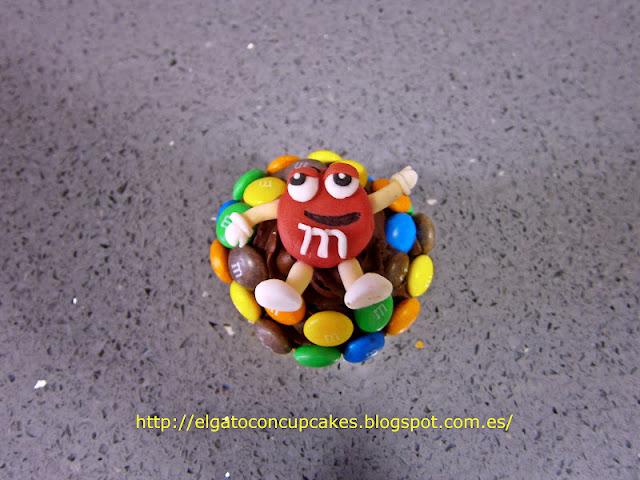 Cupcakes m&m´s