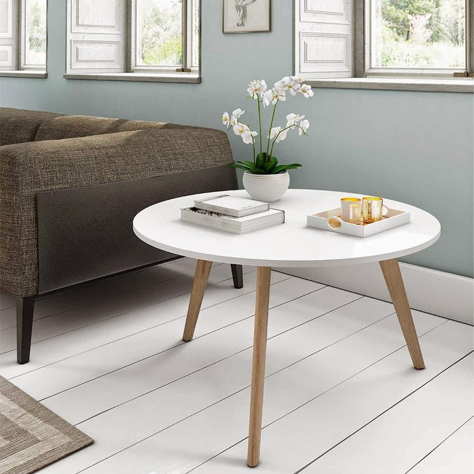 mesa de centro redonda marcus
