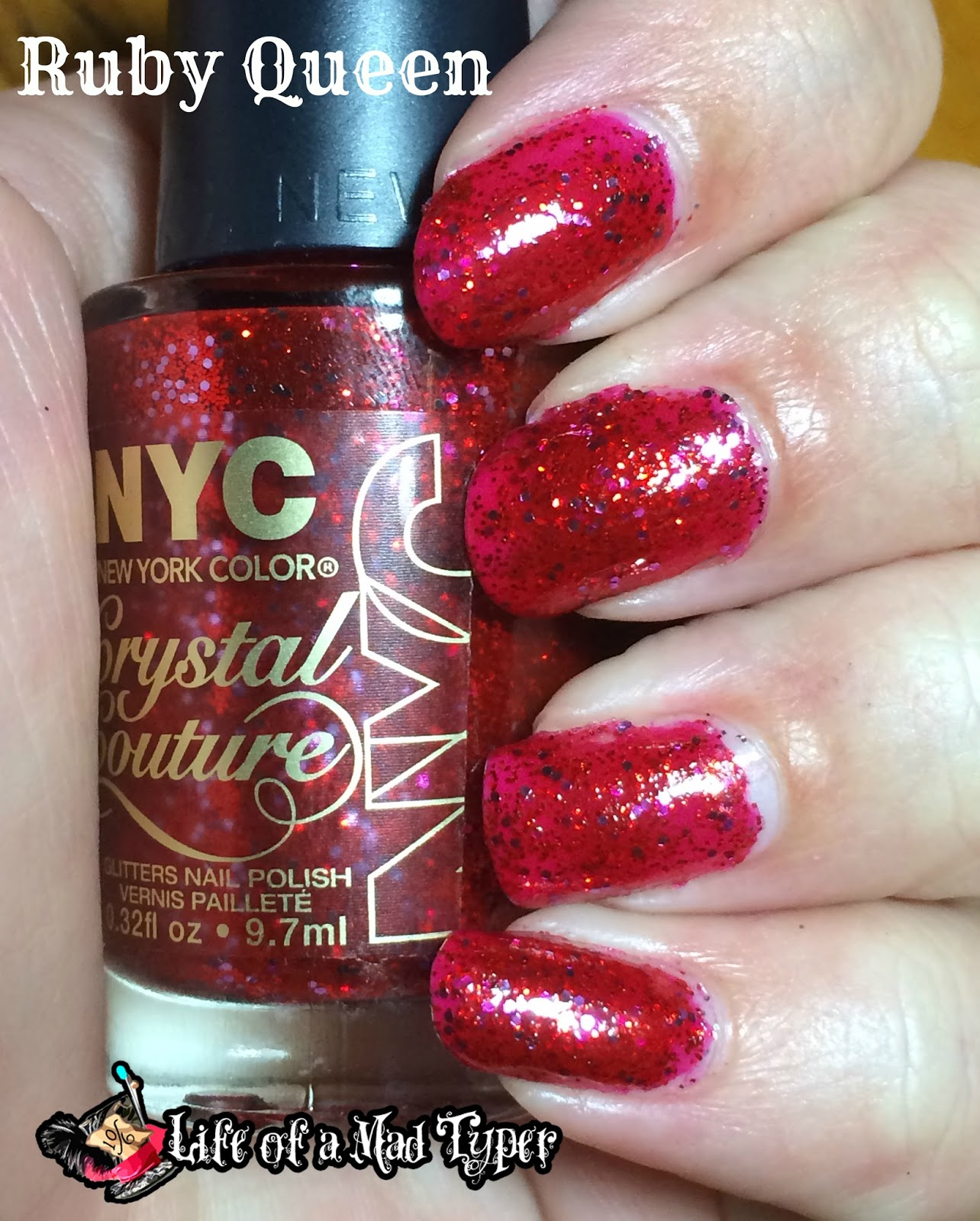 NYC Fashion Queen Crystal Couture Collection Ruby Queen