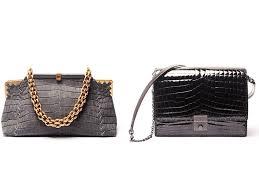 Bottega Veneta crocodile handbags