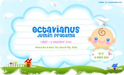kartu ucapan kelahiran terbaru 2012 terlengkap   kumpulan