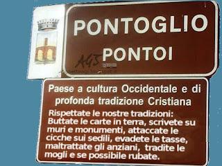 Pontoglio, tradizioni italiane, cultura occidentale, tradizione cristiana, satira