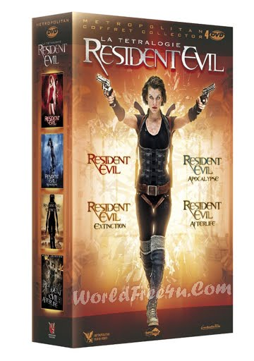Poster Of Resident Evil All Parts In Hindi English Dual Audio 300MB Compressed Small Size Pc Movie Free Download Only At worldfree4u.com