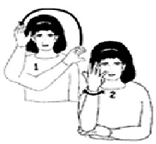 sign christmas tree - Merry Christmas In Sign Language